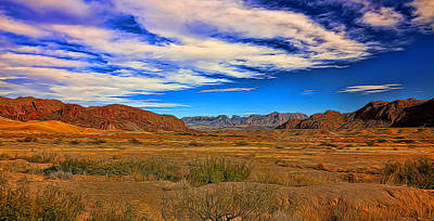 Photograph - Terlingua Desert Painted by Judy Vincent