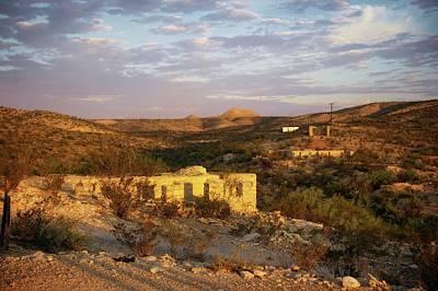 Photograph - Terlingua Ruins by Roy Nierdieck