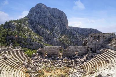Ancient Ruins Photograph - Termessos - Antalya by Joana Kruse