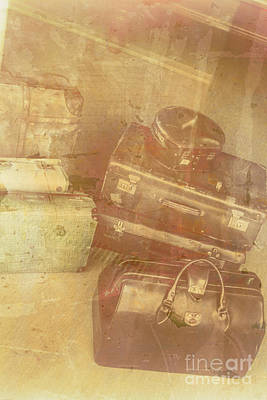 Leather Photograph - Terminal Goodbye by Jorgo Photography - Wall Art Gallery