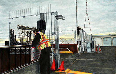 Terminal Painting - Terminal by Perry Woodfin