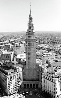 Photograph - Terminal Tower Ca. 2015 by Robert Meyers-Lussier
