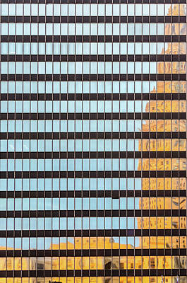 Photograph - Terminal Tower Reflection by Stewart Helberg