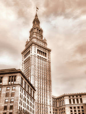 Photograph - Terminal Tower by William Beuther