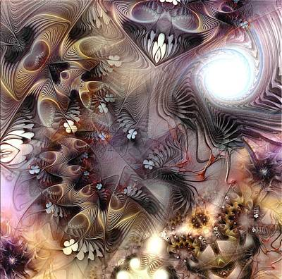 Art Print featuring the digital art Terminating Turpitude by Casey Kotas