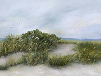 Painting - Terns by Shirley Lawing