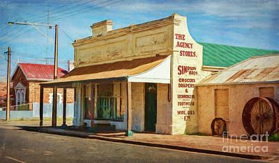 Photograph - Terowie Main Street 1 by Stuart Row