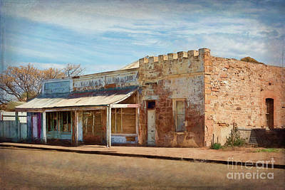 Photograph - Terowie Main Street 2 by Stuart Row