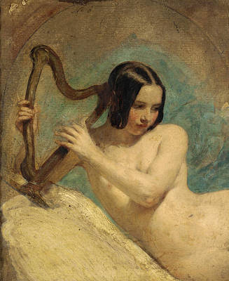 Painting - Terpsichore by William Edward Frost
