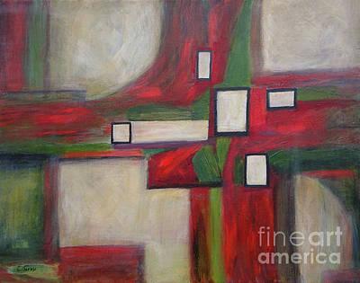 Painting - Terra by Carolyn Jarvis