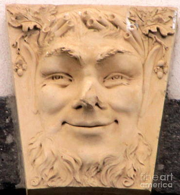 Photograph - Terra Cotta Face by Randall Weidner
