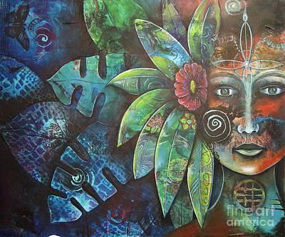 Painting - Terra Pacifica By Reina Cottier Nz Artist by Reina Cottier