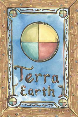 Painting - Terra by Sheri Jo Posselt