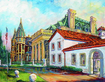 Painting - Terrace Villas by Les Leffingwell