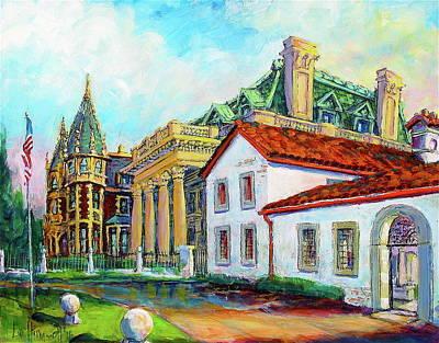 Terrace Villas Art Print