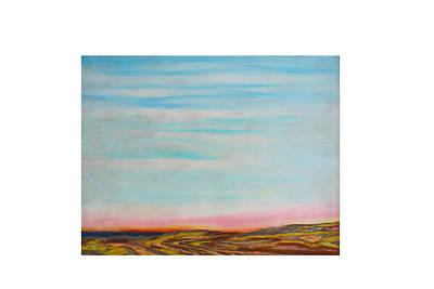 Pastel - Terraced By Nature by Daniel Dubinsky