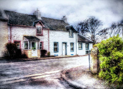 Photograph - Terraced Cottages by Pennie  McCracken