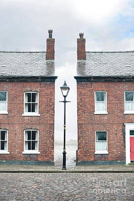 Print featuring the photograph Terraced Houses by Lee Avison