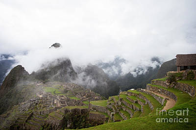 Photograph - Terraces And Ruins by Timothy Johnson