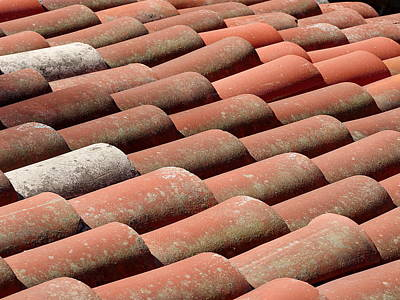 Photograph - Terracotta Roof by Richard Reeve