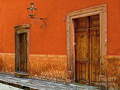 Terracotta Wall 2 Photograph By Mexicolors Art Photography
