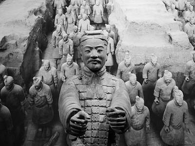 Photograph - Terracotta Warrior Army Of Qin Shi Huang Di IIi by Richard Reeve