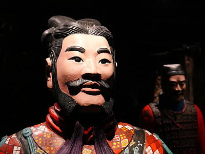 Photograph - Terracotta Warrior Army Of Qin Shi Huang Di Vi by Richard Reeve