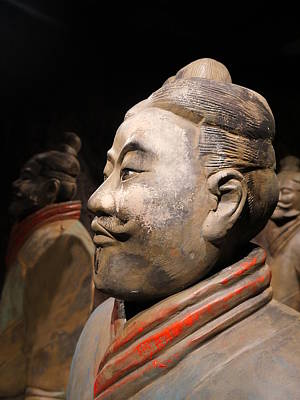 Photograph - Terracotta Warrior Army Of Qin Shi Huang Di Vii by Richard Reeve