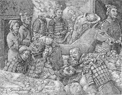Terracotta Warriors Art Print