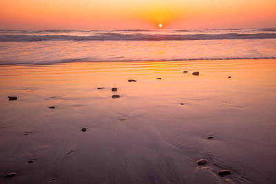 Photograph - Terramar Beach Sunset by Ben Graham