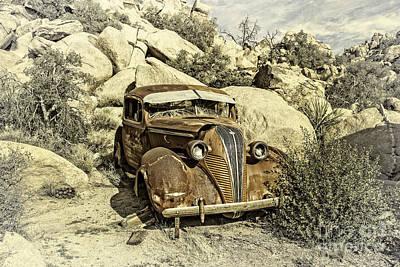 Digital Art - Terraplane Hudson Vintage by Sandra Selle Rodriguez