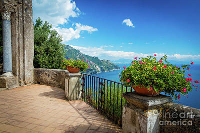 Viewpoint Photograph - Terrazzo Dell'lnfinito by Inge Johnsson