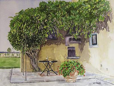 Painting - Terre Dei Cavalieri 2 by Carol Flagg