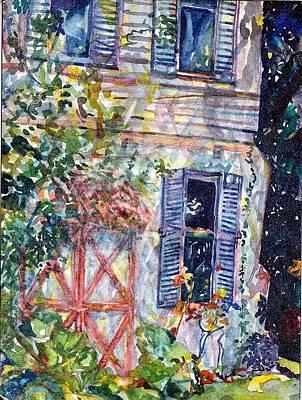 Painting - Terrel Gardens by Caroline Krieger Comings