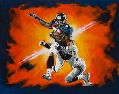 Terrell Davis II Original by Don Medina