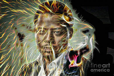 Mixed Media - Terrence Howard Lucious Lyon by Marvin Blaine