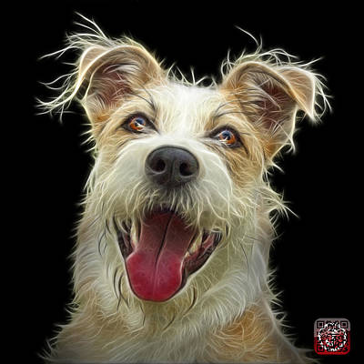 Painting - Terrier Mix 2989 - Bb by James Ahn
