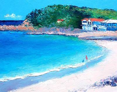 Impressionism Painting - Terrigal Beach by Jan Matson