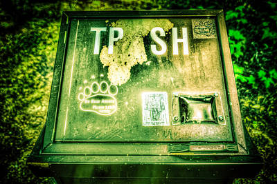 Photograph - Terror At The Trash Can by Spencer McDonald