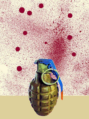 Terrorist Mixed Media - Terror by Dominic Piperata