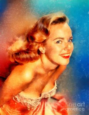 Christmas Cards - Terry Moore, Vintage Hollywood Actress by Esoterica Art Agency