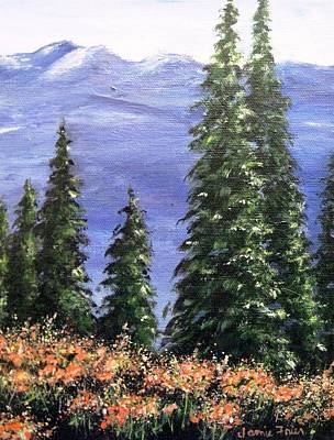Painting - Terry's Alaska by Jamie Frier