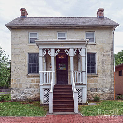 Photograph - Terwilliger House, Council Grove, Kansas by Catherine Sherman