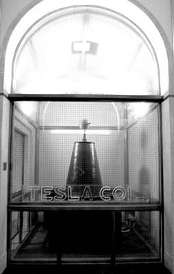 Tesla Coil Art Print by Jera Sky