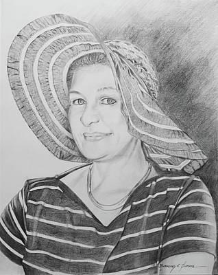 Drawing - Tess by Rosencruz  Sumera