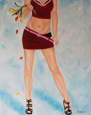 Figurativ Painting - Tessa by Denyse Loar