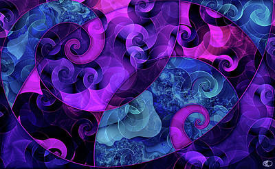 Digital Art - Tessellation by Kenneth Armand Johnson