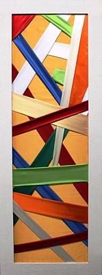 Painting - Tessuto Msc 01 by Mario Sergio Calzi