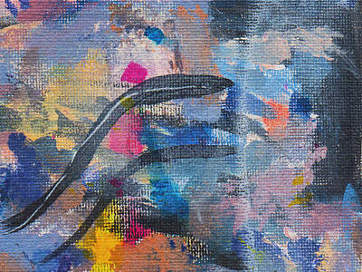 Painting - Test Canvas by Stan  Magnan