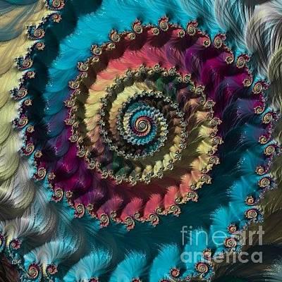 Digital Art - Test by Elizabeth McTaggart